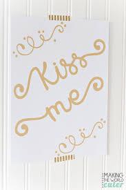 kiss me st patrick u0027s day free printable