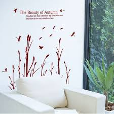beauty of autumn quote dragonfly wall stickers vinyl art decal beauty of autumn quote dragonfly wall stickers vinyl art decal mural home living room decor