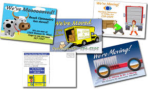 moving notice postcards mailing services