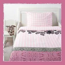 Duvet At Ikea Ikea Mystisk Duvet Cover And Pillowcase Twin Lace Pink Cotton Ebay
