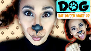 dog halloween makeup tutorial lolly isabel youtube