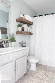 modern farmhouse bathroom makeover reveal Cheap Bathroom Makeover Ideas