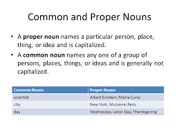 noun notes parts of speech unit definition a noun is a word or