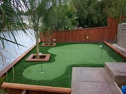 Putting Turf In Backyard Fake Grass Bowling Green Florida Putting Green Turf Small