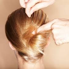 Hochsteckfrisuren Mittellange Haar Einfach by Haarstyling Lange Haare Hochstecken Kein Problem Brigitte De