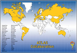 A World Map Lund Particle Physics Atlas