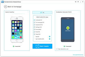 switching from android to iphone how to switch data from iphone to android device