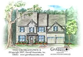 georgetown a house plan house plans by garrell associates inc