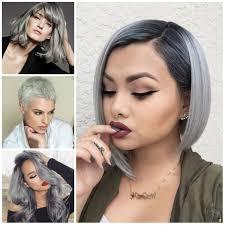trendy grey hair hairstyles for grey hair 2016 hair