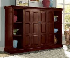 Cherry Wood Bookcase With Doors Cherry Wood Bookcase With Doors Design Interior Home Decor