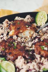 jamaican thanksgiving menu spiced rum jerk sunchokes with rice u0026 beans for food