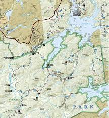 Desolation Wilderness Map Five Ponds Wilderness