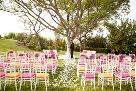 wedding theme pink orange white wedding theme 001 weddings by lilly