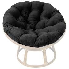 Leather Papasan Cushion by 46 Inch Microsuede Tufted Papasan Cushion Dcg Stores