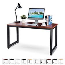 Teak Computer Desk Office Computer Desk 55 Teak Laminated Wooden