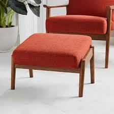 upholstered ottoman west elm