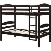 Better Homes And Gardens Leighton Twin Over Twin Wood Bunk Bed - Twin over twin bunk beds