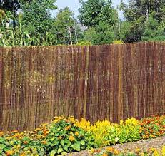 Curved Trellis Fence Panels Willow Fences U0026 More
