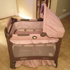 Pink And Brown Graco Pack N Play With Changing Table Graco Travel Lite Pink Brown Playard Pack N And Play Pen Bassinet