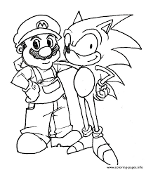 coloring pages mario party awesome brothers for your books with