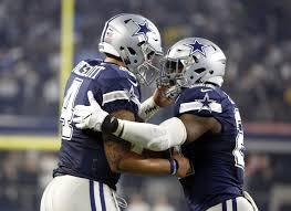 cowboys redskins thanksgiving rookies dak prescott ezekiel elliott lead cowboys to 10th