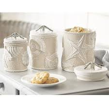 beach kitchen canisters home design ideas and pictures