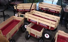 Radio Flyer Wagons Used How To Tell Age Valley Children U0027s Hospital Transports Patients In Radio Flyer Red