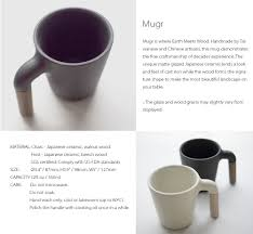 mugr ceramic and wood coffee mug apollobox