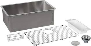 bowl kitchen sink for 30 inch cabinet zuhne 28 by 18 inch undermount stainless single bowl kitchen