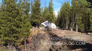 Tinyhouseblog by The Torrent Ellis Canvas Tent Youtube