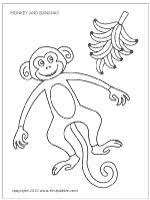 coloring pages kids monkey coloring pages feature