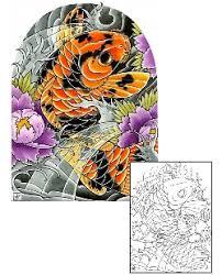 koi fish tattoos and designs