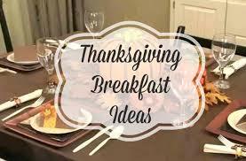 thanksgiving breakfast ideas wait for