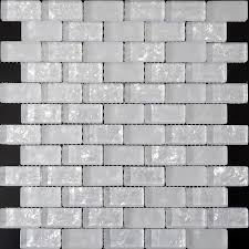 Crackle Glass Mosaic Tiles Ice Pearl Glass Subway Tile ZZ - Crackle tile backsplash