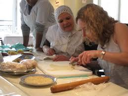 cours de cuisine orientale comment j ai appris à faire des pâtisseries orientales aux