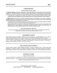 Resume Samples Best by Executive Resume Examples Template Best Template Collection