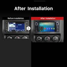 android in dash dash dvd player 2009 2010 2011 jeep compass android 7 1 radio gps