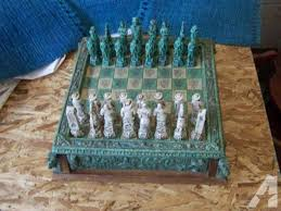 North Carolina Travel Chess Set images Shannon crystal chess set classifieds buy sell shannon crystal jpg