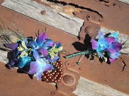 turquoise corsage prom corsage boutonniere flowers to wear special occasions