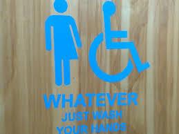 Gender Neutral Bathrooms Debate - high in canada brings laughs to gender neutral bathroom