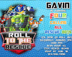 transformer rescue bots party supplies rescue bots birthday iron on printable image transformers