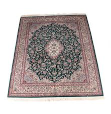Kashan Persian Rugs by Hand Knotted Persian Kashan Style Area Rug Ebth