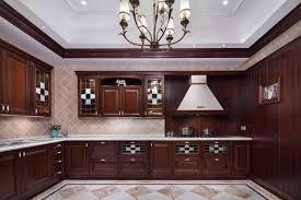 modele de cuisine en bois cuisine en bois moderne inspirations avec model de cuisine marbre