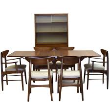 Nine Piece Dining Suite Includes China Cabinet Stanley Furniture - Stanley dining room furniture