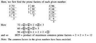 quantitative aptitude hcf and lcm tutorial study material