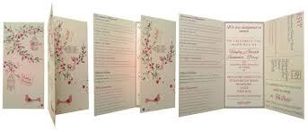 tri fold wedding invitations template unique wedding invitation opening wedding invitation design