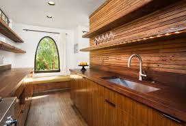 Wood Backsplash Kitchen How To Achieve Classic Yet Modern Kitchen Cabinets