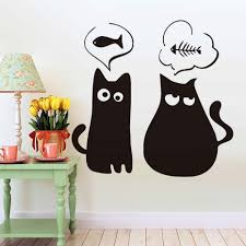 Decoration Cat Wall Decals Home by Popular Kitten Wall Decals Buy Cheap Kitten Wall Decals Lots From