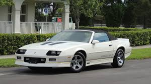 1988 chevrolet camaro iroc z 1988 chevrolet camaro iroc z convertible w144 kissimmee 2017