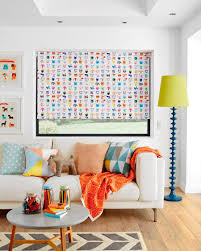 9 summer ideas for refreshing your interior with home textile 4 2 fun party animals roller blinds by